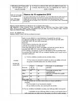 RAPPORT CM 18 SEPTEMBRE 2015